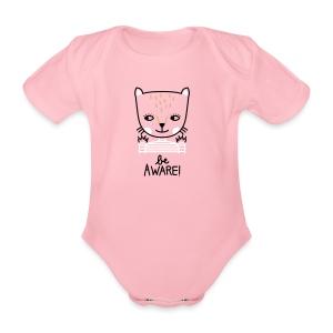 Babybody: Be aware! - Baby Bio-Kurzarm-Body