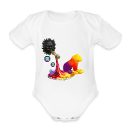 Baby-bodyer ~ Baby body ~ Sparkedragt, Let out the colors.
