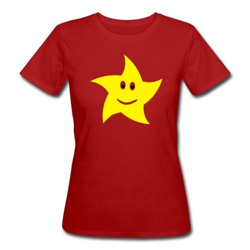star - Ekologisk T-shirt dam