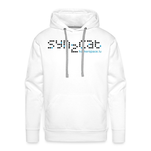 syn2cat NewLogo bright - Men's Premium Hoodie