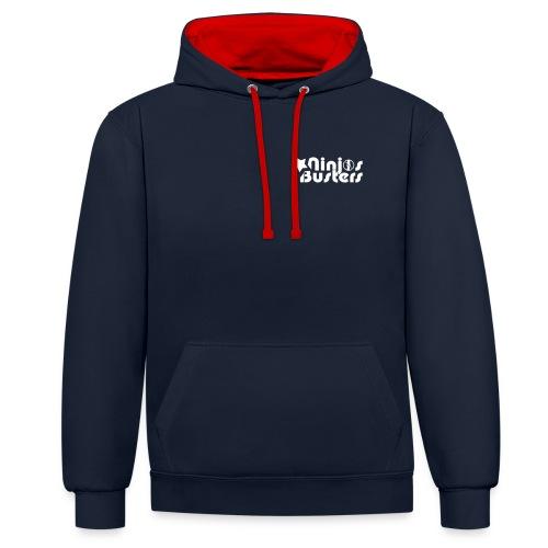 Martial Arts Sweatshirt Ninjas Busters - Sweat-shirt contraste