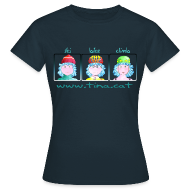 Camisetas ~ Camiseta mujer ~ ski, bike, climb
