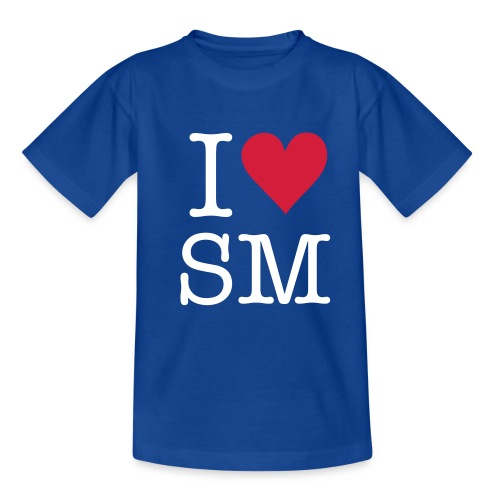 Kids I Love St Mawes T-Shirt - Teenage T-Shirt