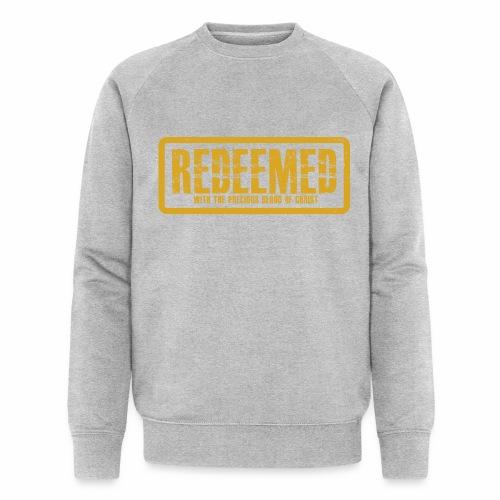 Redeemed premium men sweater  - Men's Organic Sweatshirt by Stanley & Stella