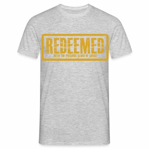 Redeemed Men crew-neck Tee - Men's T-Shirt