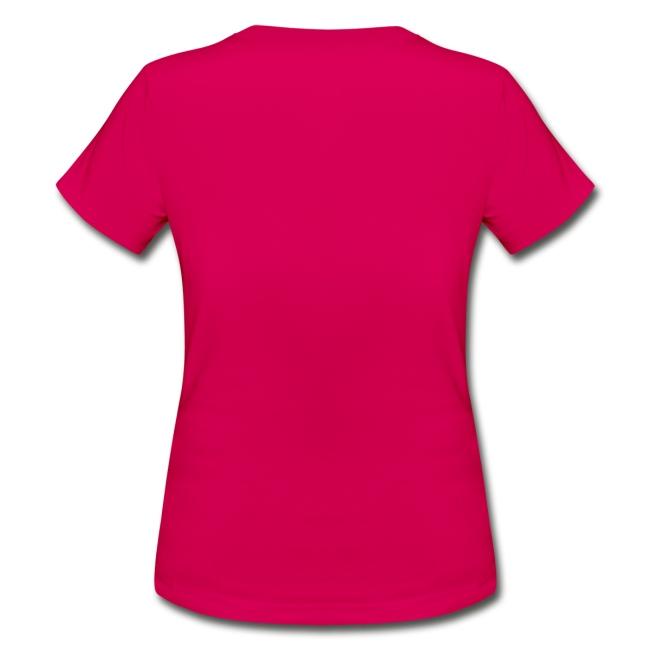 T-shirt vit text DAM