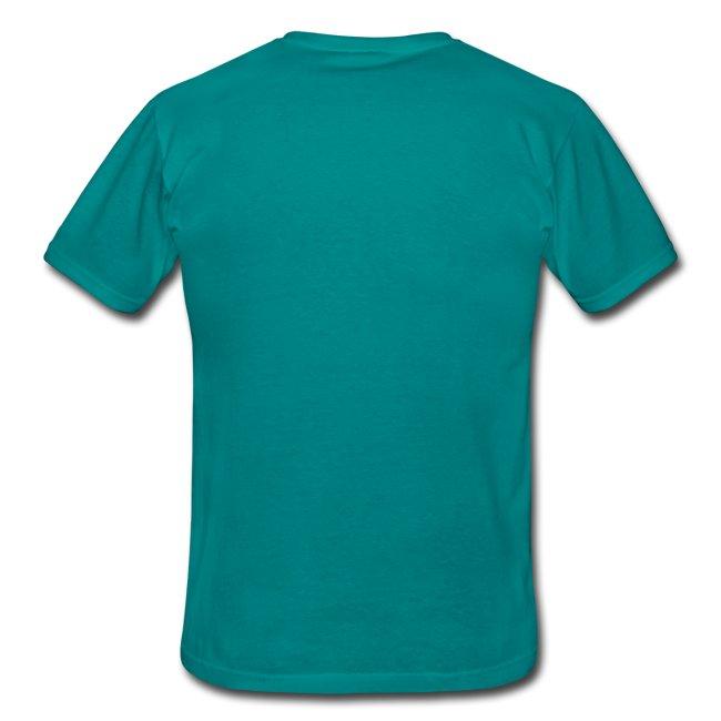 T-shirt vit text HERR