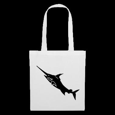 White Schwertfisch / swordfish (1c) Bags