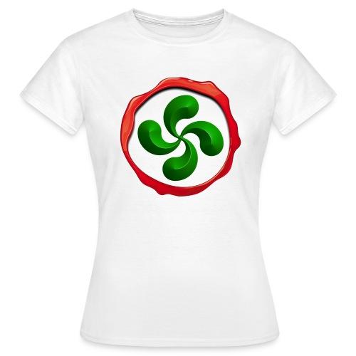 Basque Cross Lauburu - T-shirt Femme