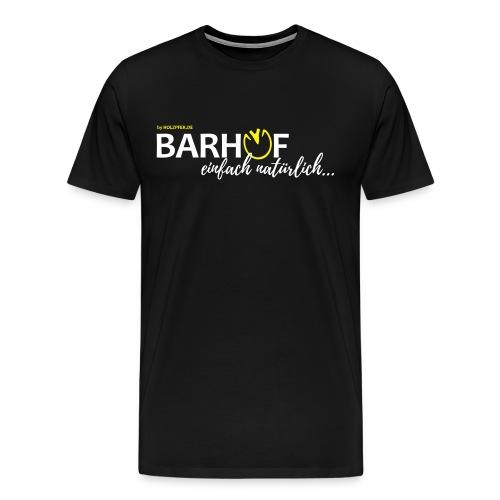 Barhuf - einfach natürlich - Männer Premium T-Shirt