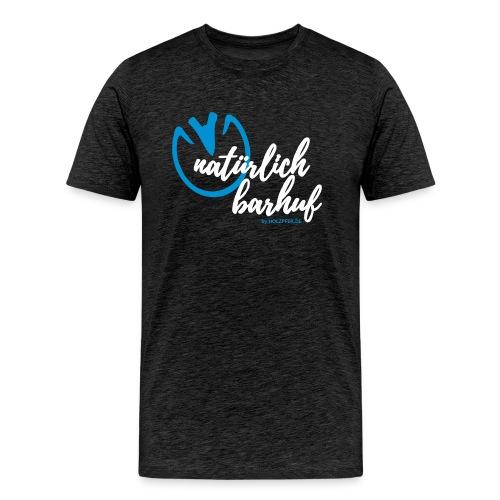 natürlich barhuf - Männer Premium T-Shirt