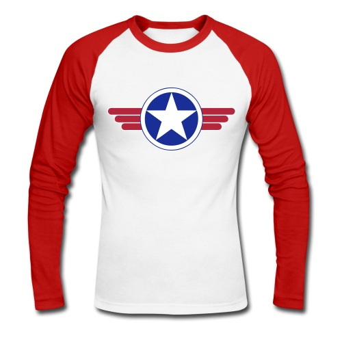 US Army design - T-shirt baseball manches longues Homme