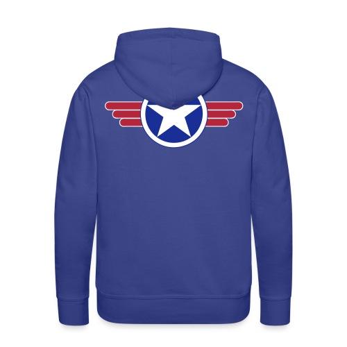 US Army design - Sweat-shirt à capuche Premium pour hommes