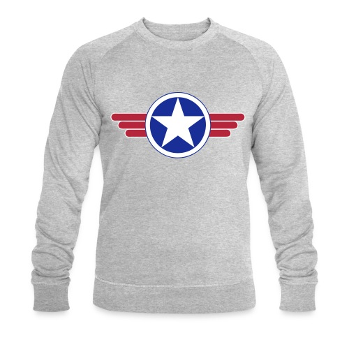 US Army design - Sweat-shirt bio Stanley & Stella Homme