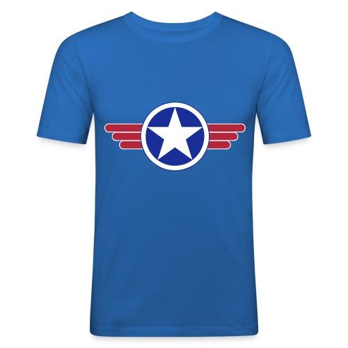 US Army design - Tee shirt près du corps Homme