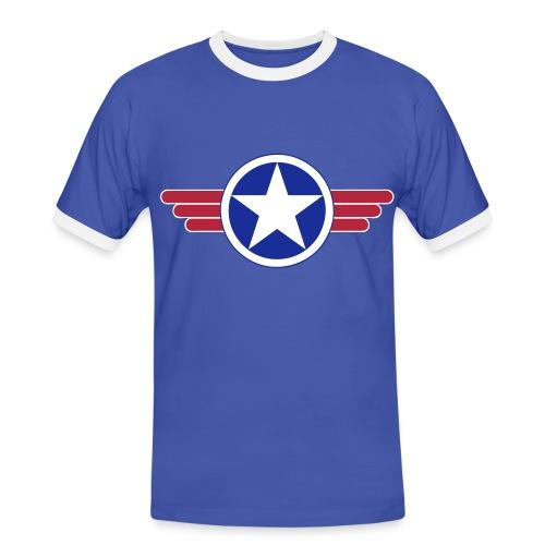 US Army design - T-shirt contrasté Homme