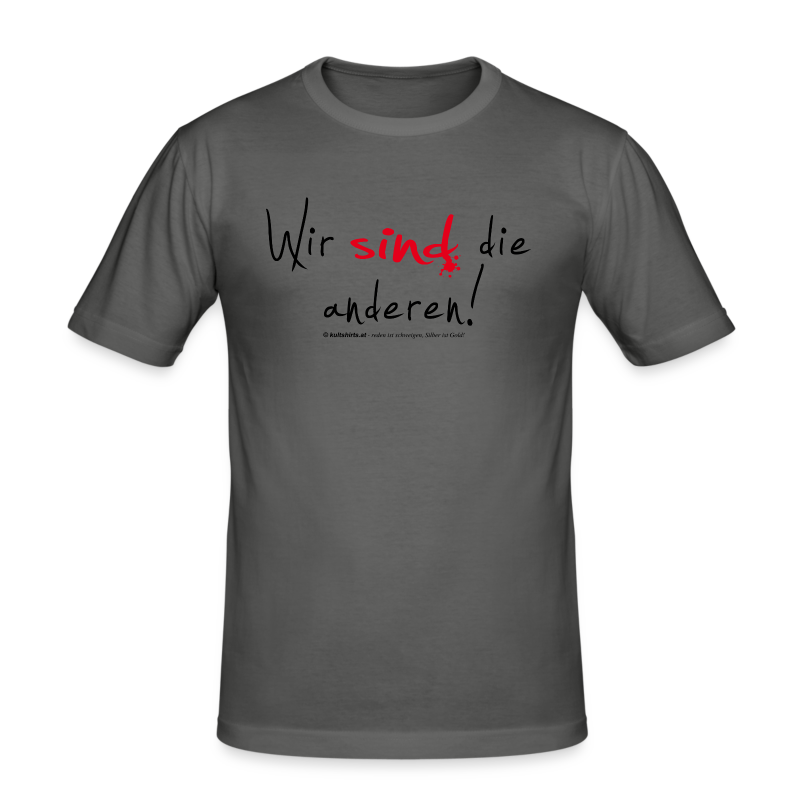- Männer Slim Fit T-Shirt