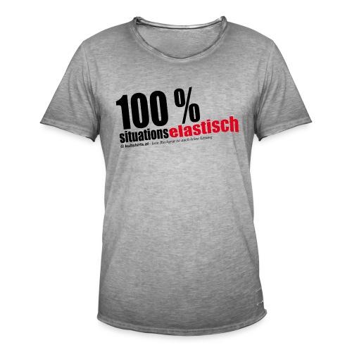 situationselastisch - Männer Vintage T-Shirt