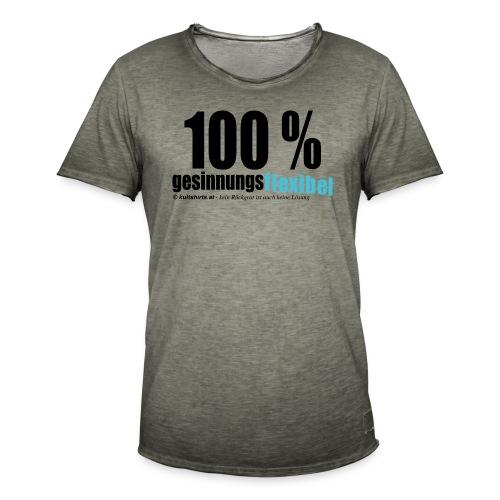 gesinnungsflexibel - Männer Vintage T-Shirt