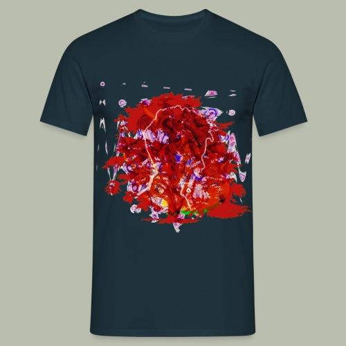Explosion - Männer T-Shirt