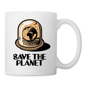 Weltkugel - Save the planet_3c - Tasse