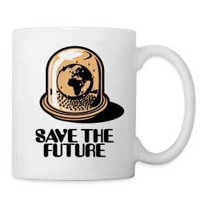 Weltkugel - Save The Future_3c - Tasse
