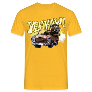 yeehaw! - Men's T-Shirt