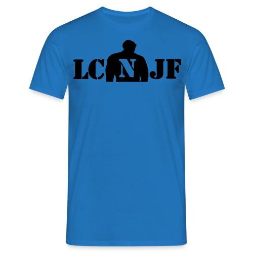 TSHIRT Bleu royal |Logo Noir| - T-shirt Homme