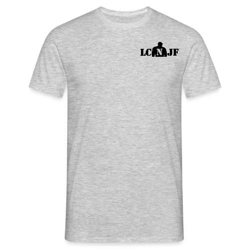 TSHIRT Gris chiné |Logo Noir| - T-shirt Homme