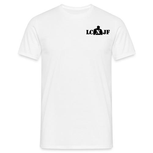 TSHIRT Blanc |Logo Noir| - T-shirt Homme
