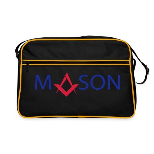 Mason bag black - franc maçon - Sac Retro
