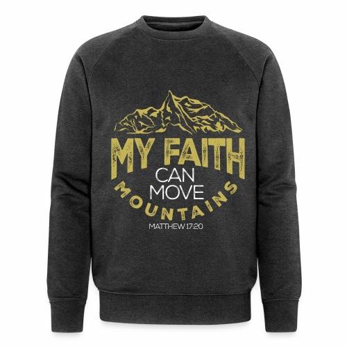 Faith Sweat Men - Men's Organic Sweatshirt by Stanley & Stella