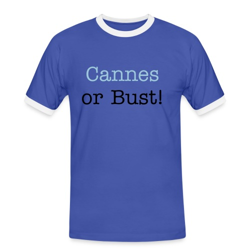 Cannes or Bust T - Men's Ringer Shirt