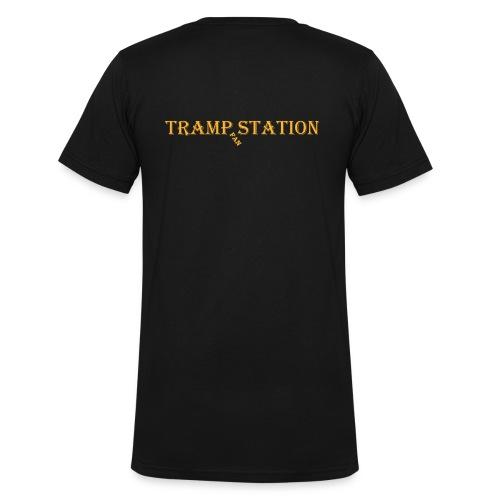 Herren Fanshirt, V-Ausschnitt - Männer Bio-T-Shirt mit V-Ausschnitt von Stanley & Stella