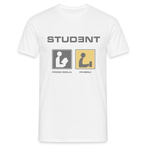 Student man - Koszulka męska