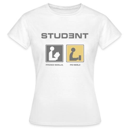 Student woman - Koszulka damska