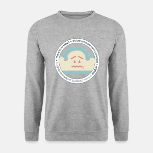 There is no Cloud, Sweatshirt - Original Circle - Men's Sweatshirt