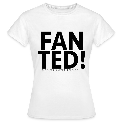 FAN TED (VIT) - t-shirt (dam) - T-shirt dam