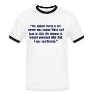 T-Shirts ~ Men's Ringer Shirt ~ Greaves Quote