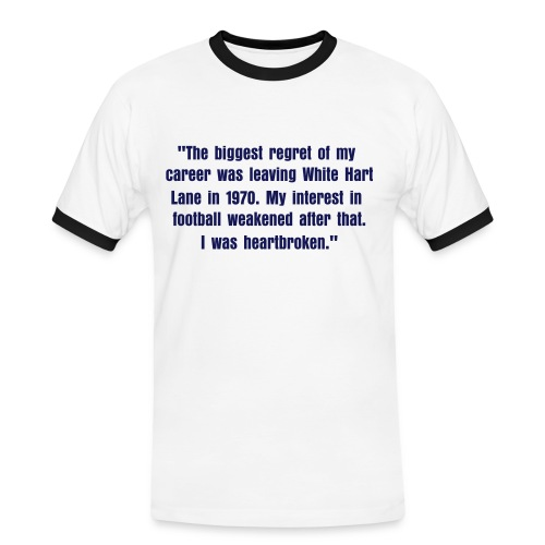Greaves Quote - Men's Ringer Shirt