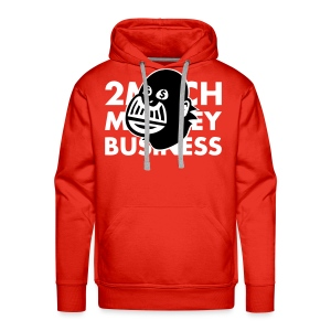 2 much monkey bizness - Men's Premium Hoodie