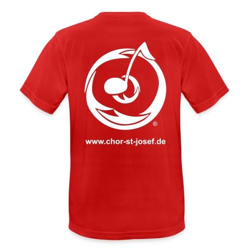 Atmungsaktives Männer-Shirt in vielen Farben für den Sport - Männer T-Shirt atmungsaktiv