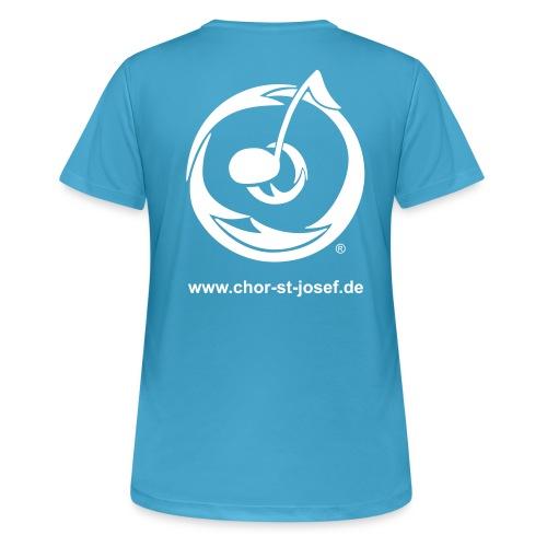 Atmungsaktives Frauen Shirt in vielen Farben für den Sport - Frauen T-Shirt atmungsaktiv