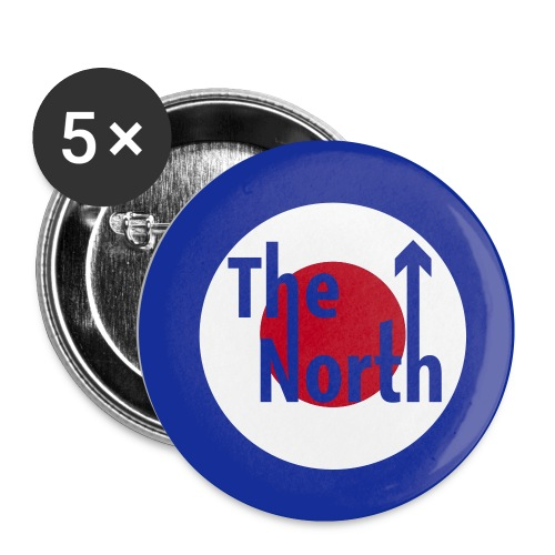 Mod the North Badgepin - Buttons small 25 mm