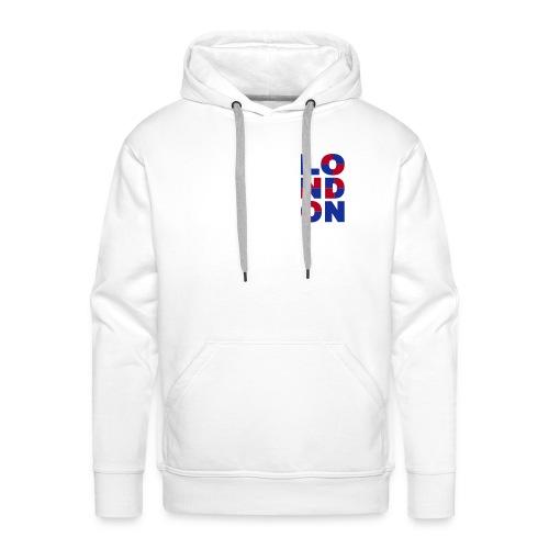 Sweat London - Sweat-shirt à capuche Premium pour hommes