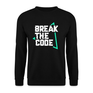 Break The Code Sweat-Shirt Noir - Sweat-shirt Homme