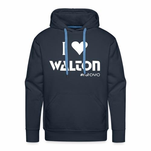 I love Walton #noFOMO Hoodie | Talk Crypto To Me - Männer Premium Hoodie