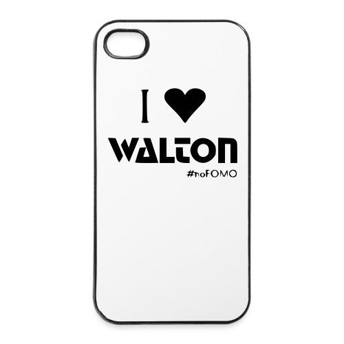 I love Walton #noFOMO iPhone 4 / 4s Case | Talk Crypto To Me - iPhone 4/4s Hard Case
