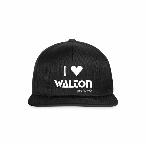 I love Walton #noFOMO Basecap | Talk Crypto To Me - Snapback Cap