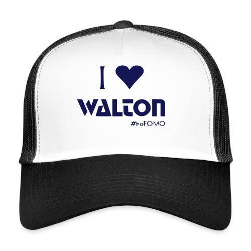 I love Walton #noFOMO Trucker Cap | Talk Crypto To Me - Trucker Cap